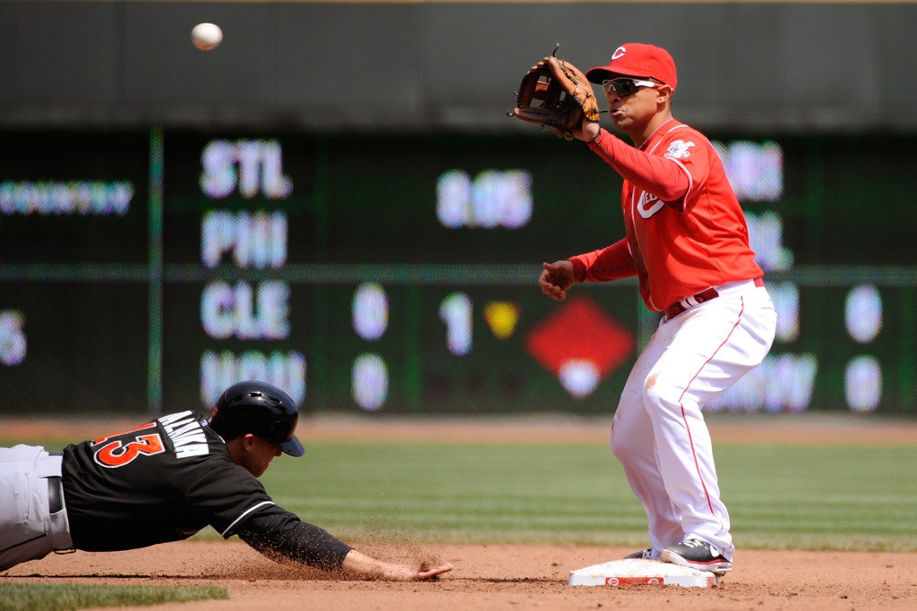 Miami Marlins v Cincinnati Reds 38464