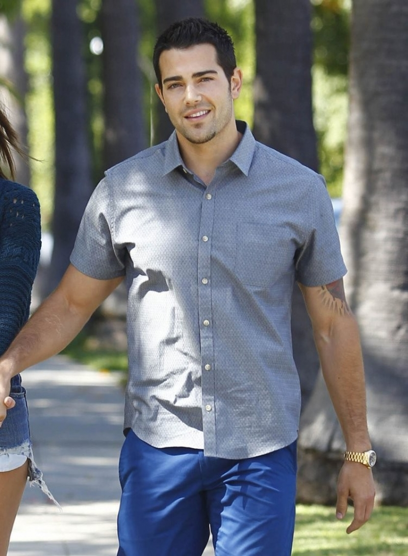 Jesse Metcalfe & Cara Santana All Smiles In Beverly Hills 38488