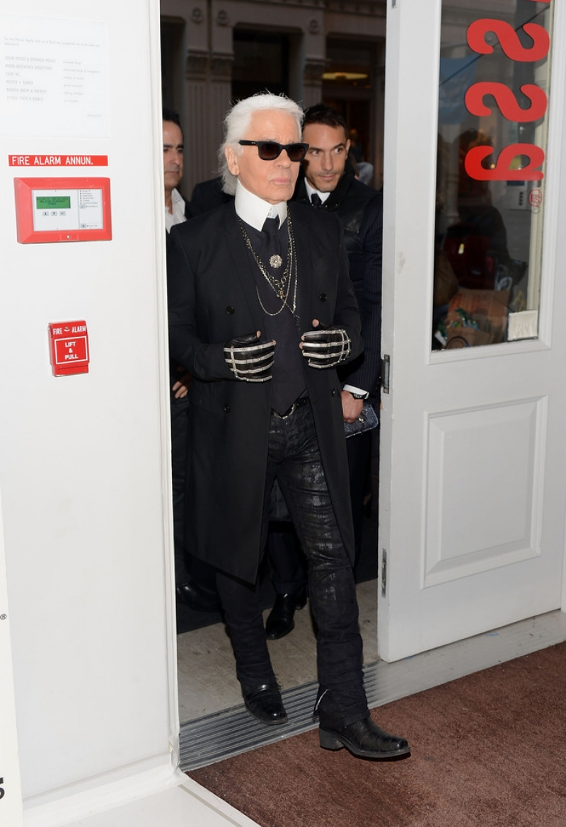Melissa + Karl Lagerfeld Line Launches in NYC 38509