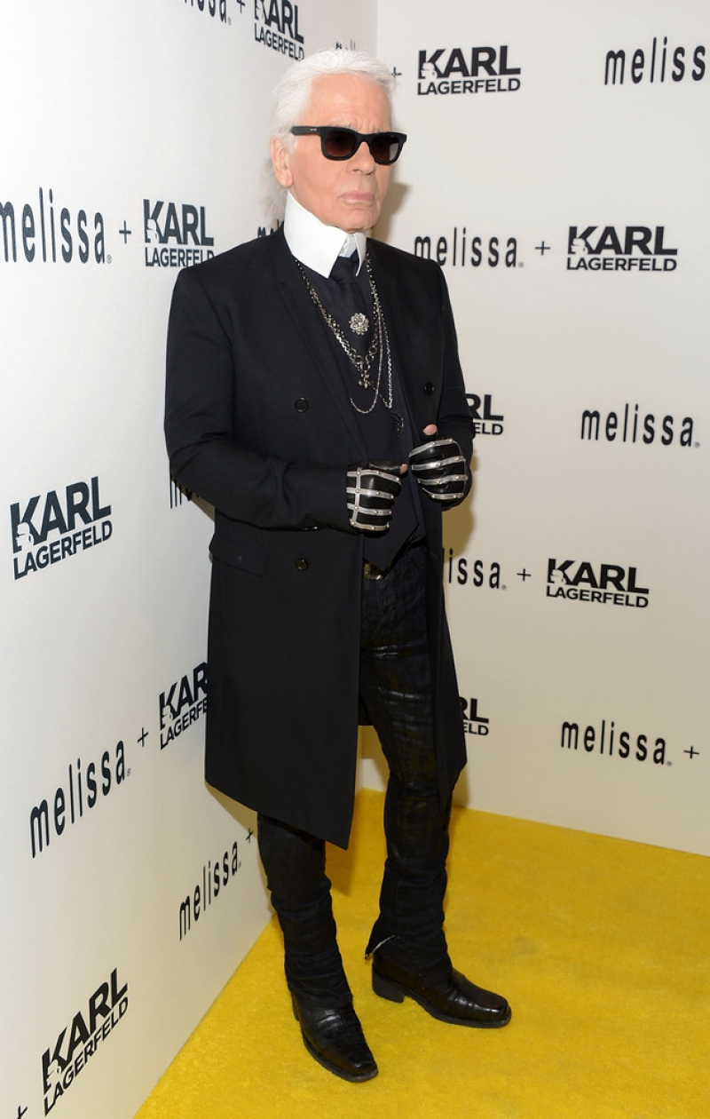 Melissa + Karl Lagerfeld Line Launches in NYC 38528