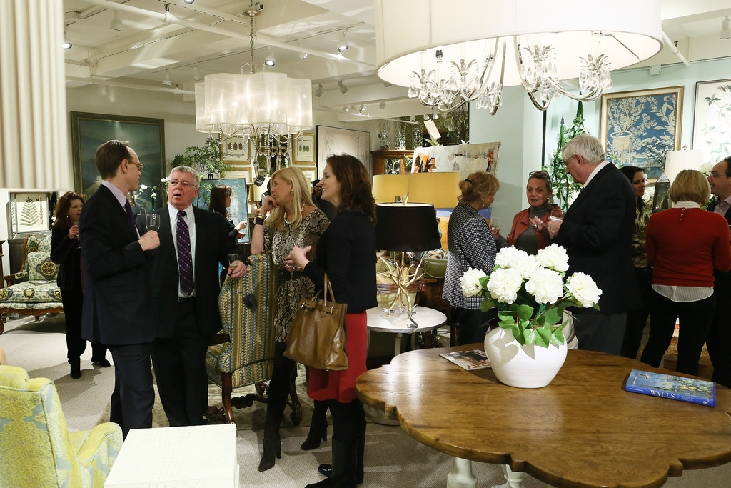 John-Richard Showroom Opening At The New York Design Center 38558