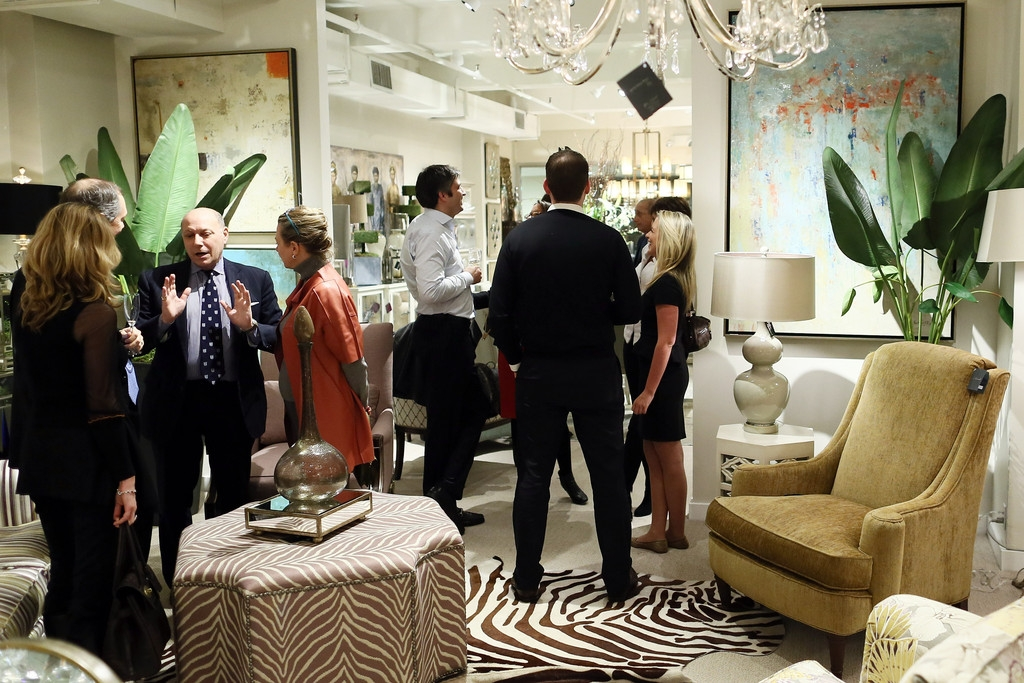 John-Richard Showroom Opening At The New York Design Center 38559