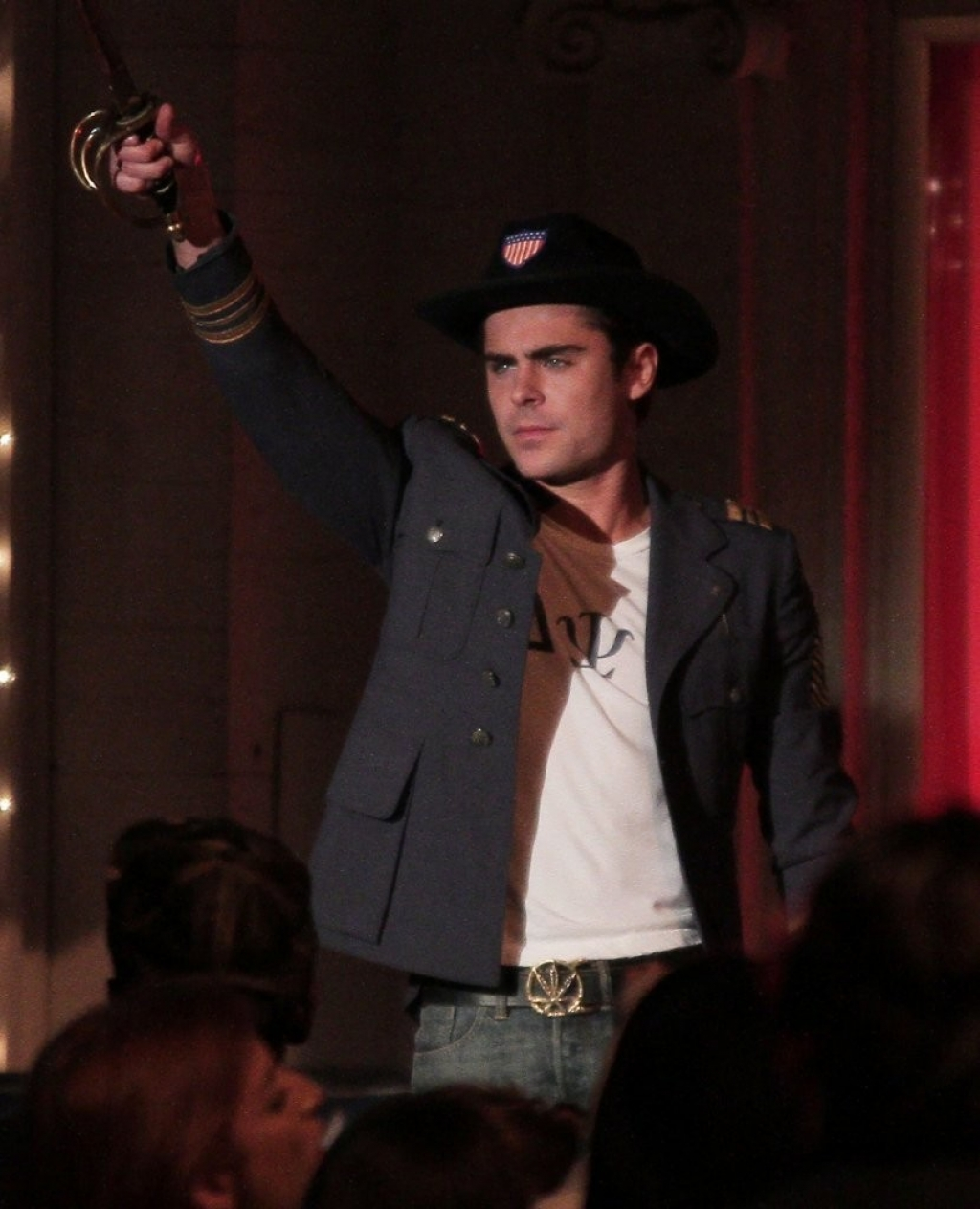 Zac Efron Films Scenes For 'Townies' 38579