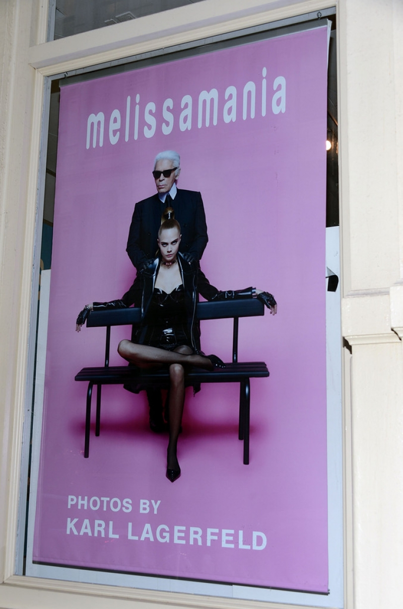 Melissa + Karl Lagerfeld Line Launches in NYC 38600