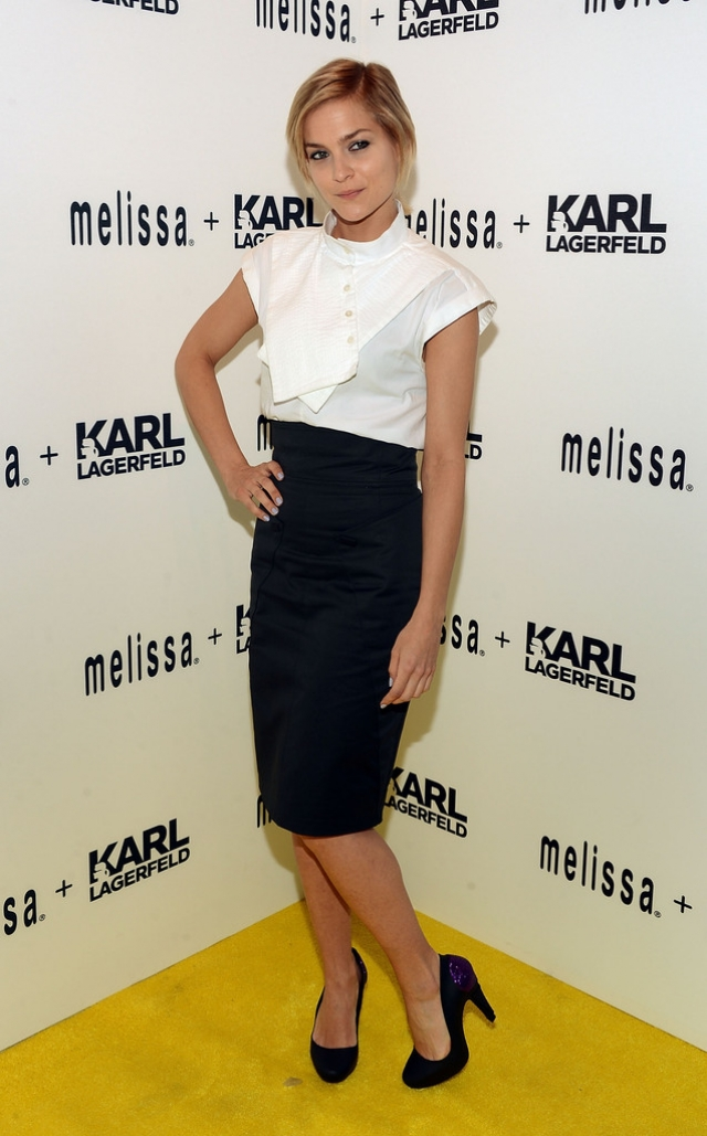 Melissa + Karl Lagerfeld Line Launches in NYC 38601