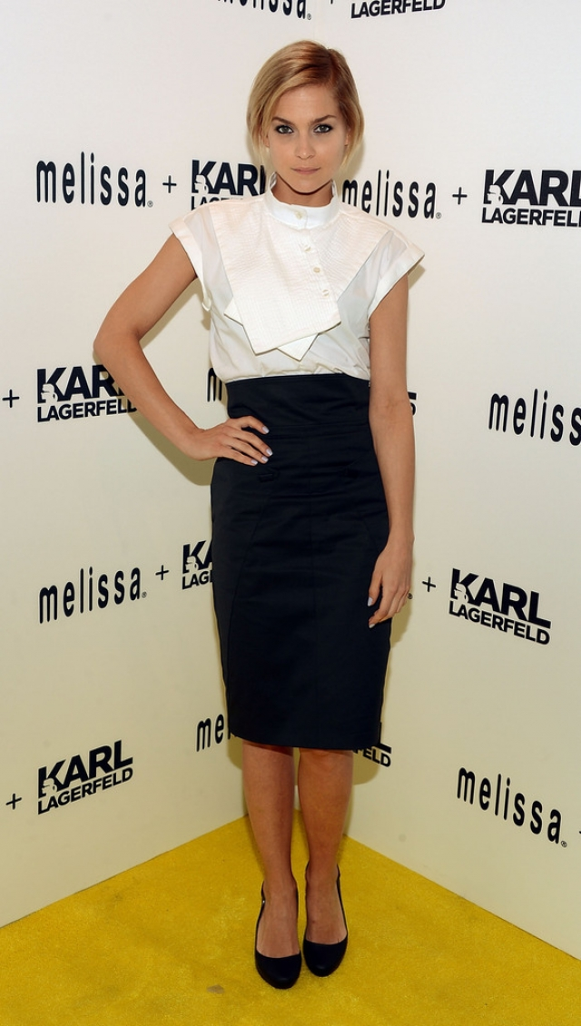 Melissa + Karl Lagerfeld Line Launches in NYC 38602