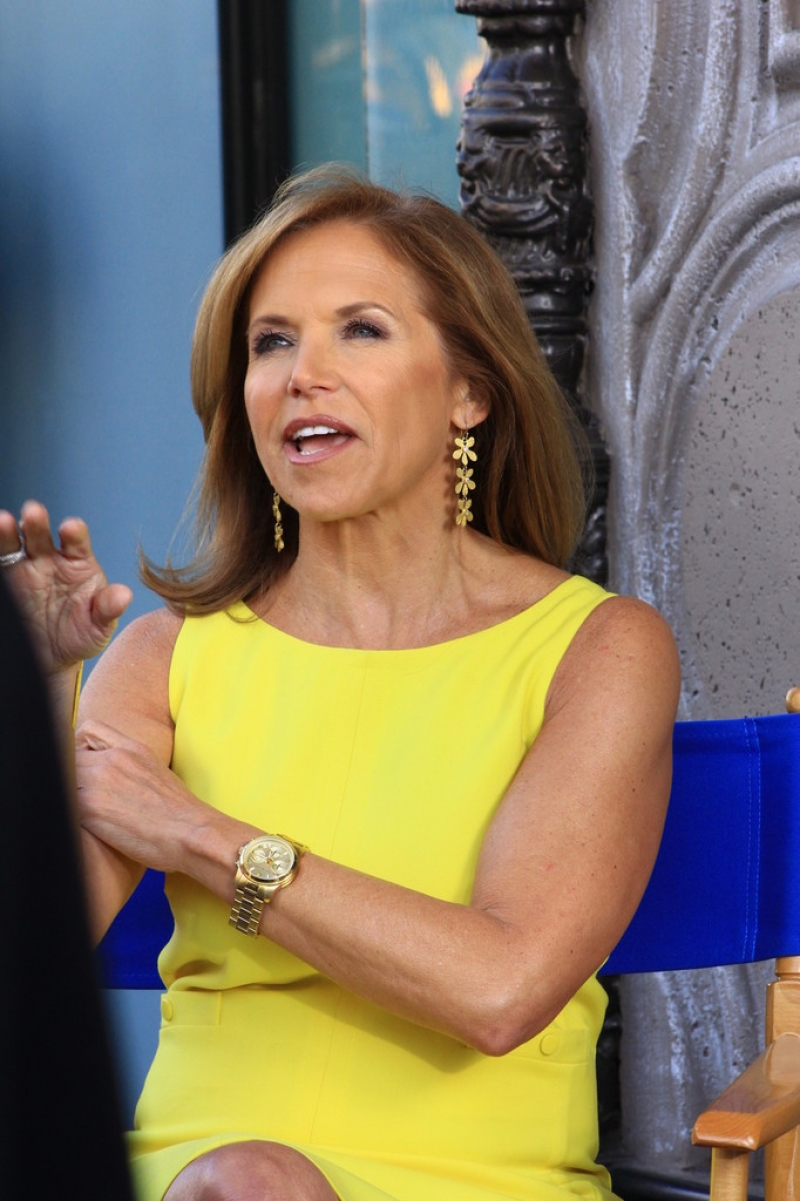 Katie Couric Hangs Out at the El Capitan Theatre 38631