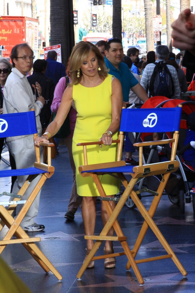 Katie Couric Hangs Out at the El Capitan Theatre 38633
