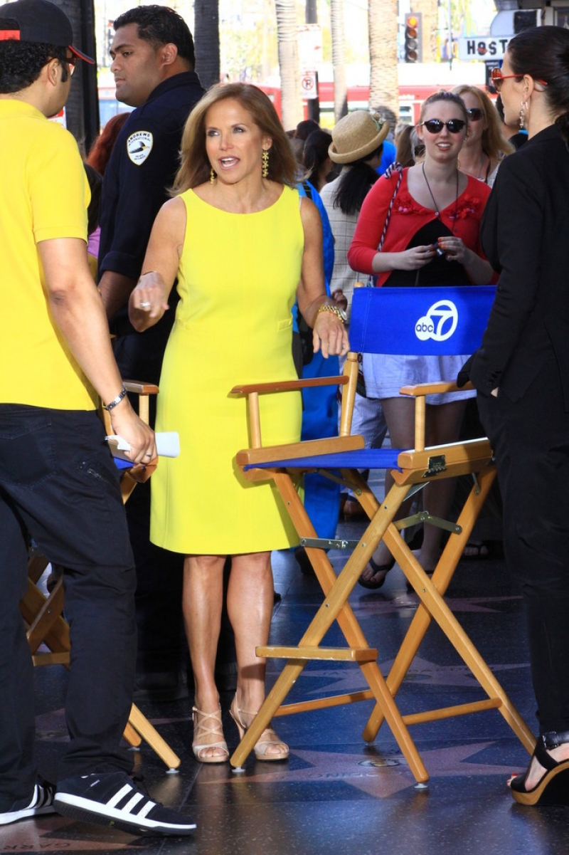 Katie Couric Hangs Out at the El Capitan Theatre 38637