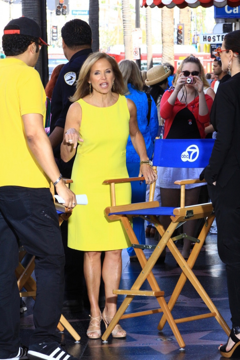 Katie Couric Hangs Out at the El Capitan Theatre 38644