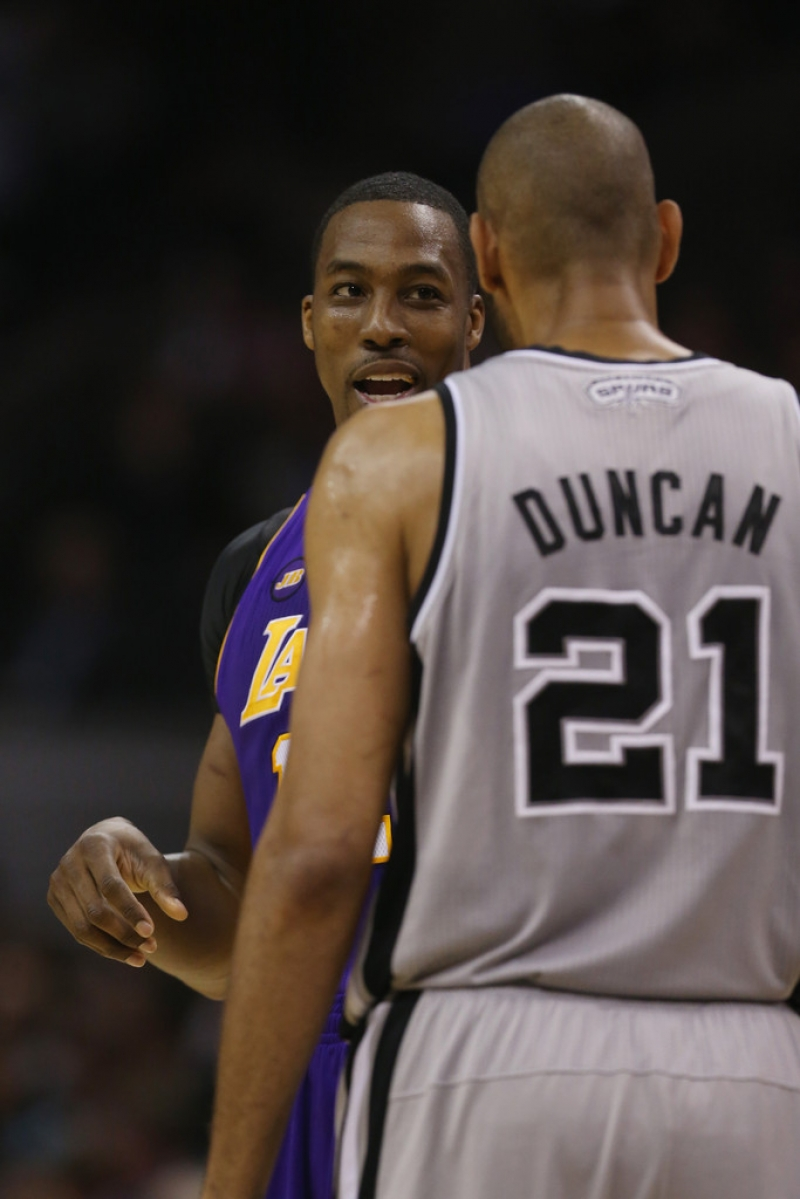 Los Angeles Lakers v San Antonio Spurs  38758