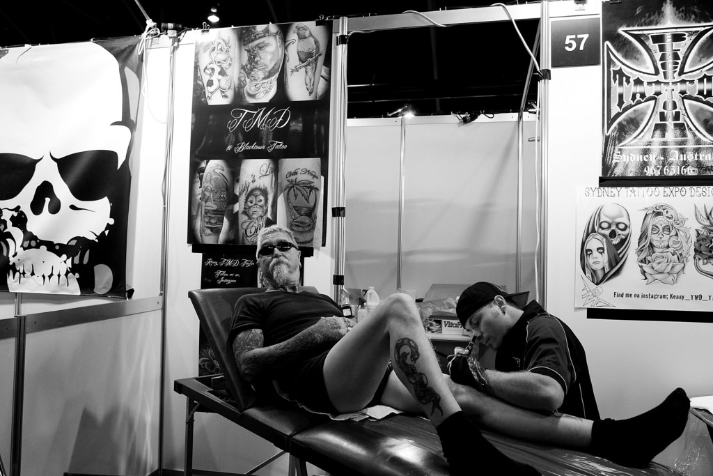 Tattoo Enthusiasts Enjoy 2013 2013 Sydney Tattoo & Body Art Expo 38915