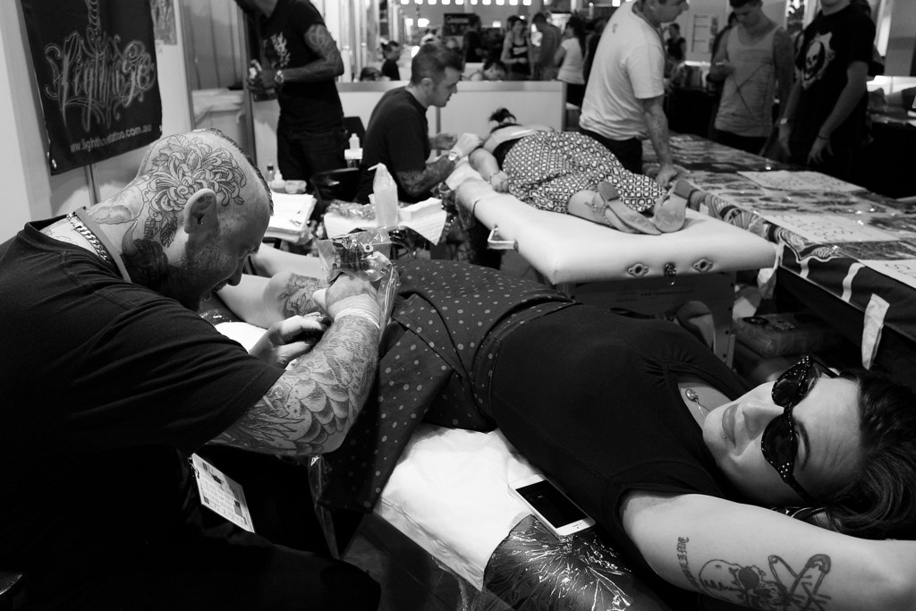 Tattoo Enthusiasts Enjoy 2013 2013 Sydney Tattoo & Body Art Expo 38945