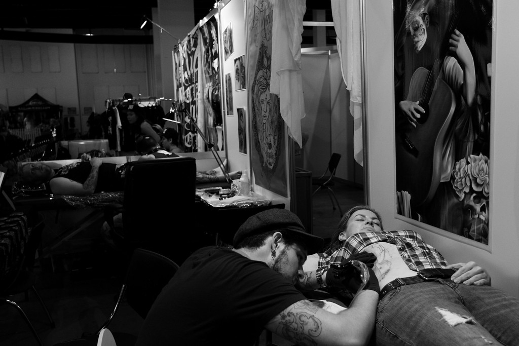 Tattoo Enthusiasts Enjoy 2013 2013 Sydney Tattoo & Body Art Expo 39000