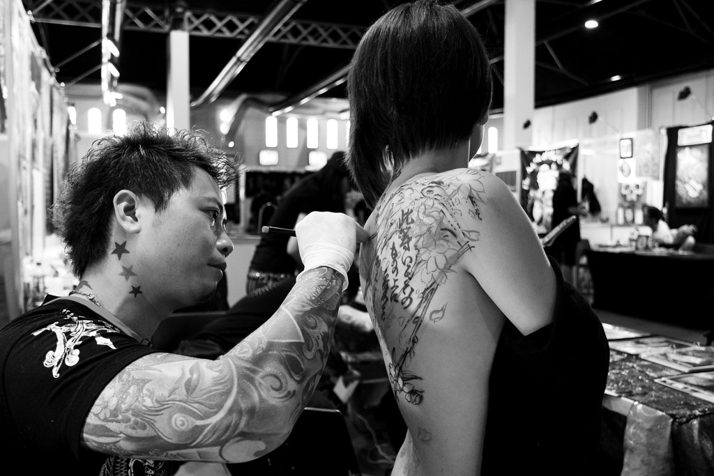 Tattoo Enthusiasts Enjoy 2013 2013 Sydney Tattoo & Body Art Expo 39006