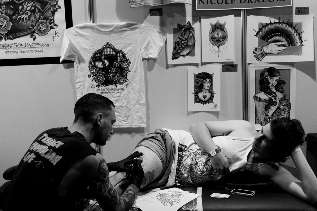 Tattoo Enthusiasts Enjoy 2013 2013 Sydney Tattoo & Body Art Expo 39043