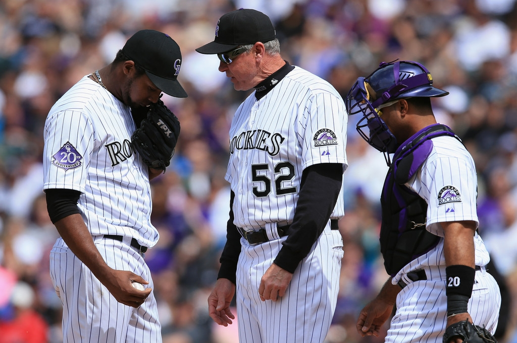 Arizona Diamondbacks v Colorado Rockies 39224