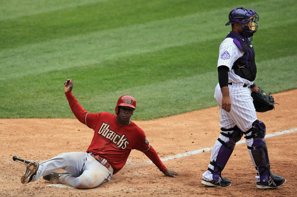 Arizona Diamondbacks v Colorado Rockies 39255