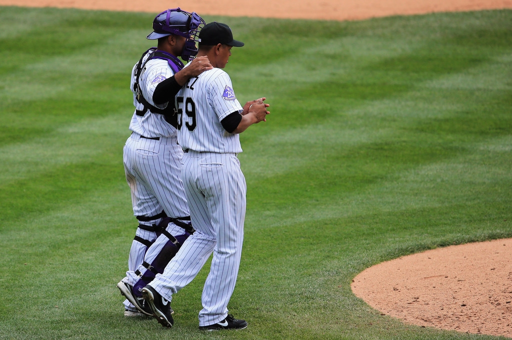 Arizona Diamondbacks v Colorado Rockies 39259