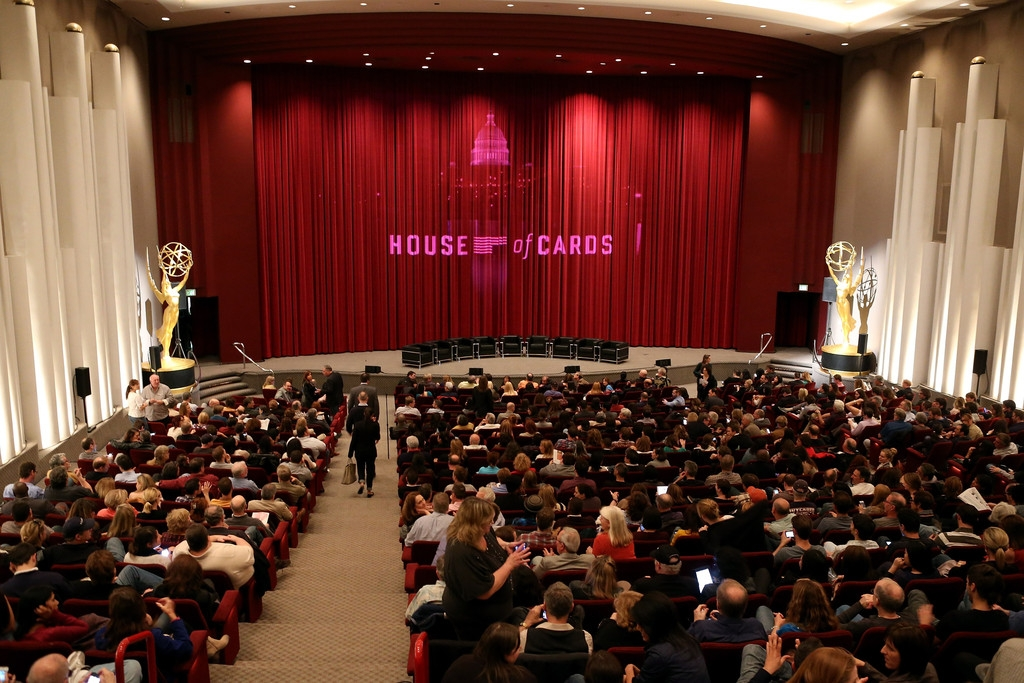 'House of Cards' Q&A in Hollywood 39455