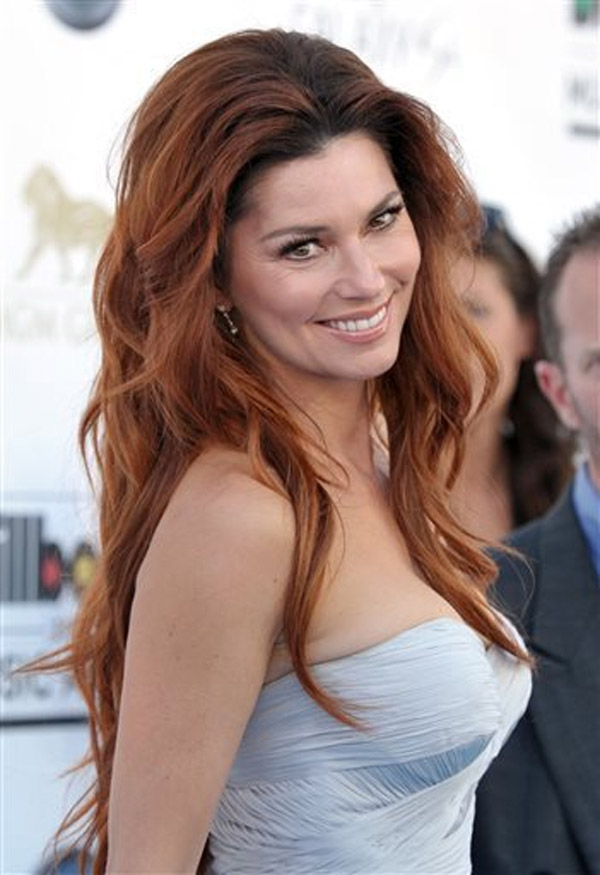 Shania Twain arrives at the Billboard Music Awards at MGM Grand Garden Arena on Sunday, May 19th, 2013 at Las Vegas. 39745