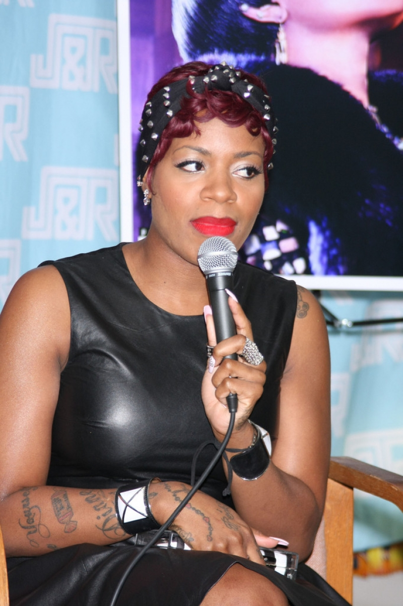 Fantasia Barrino Sings in NYC 39902