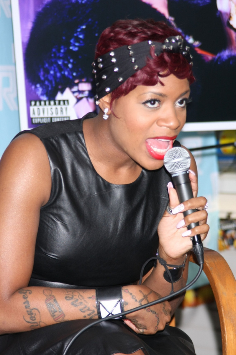 Fantasia Barrino Sings in NYC 39905