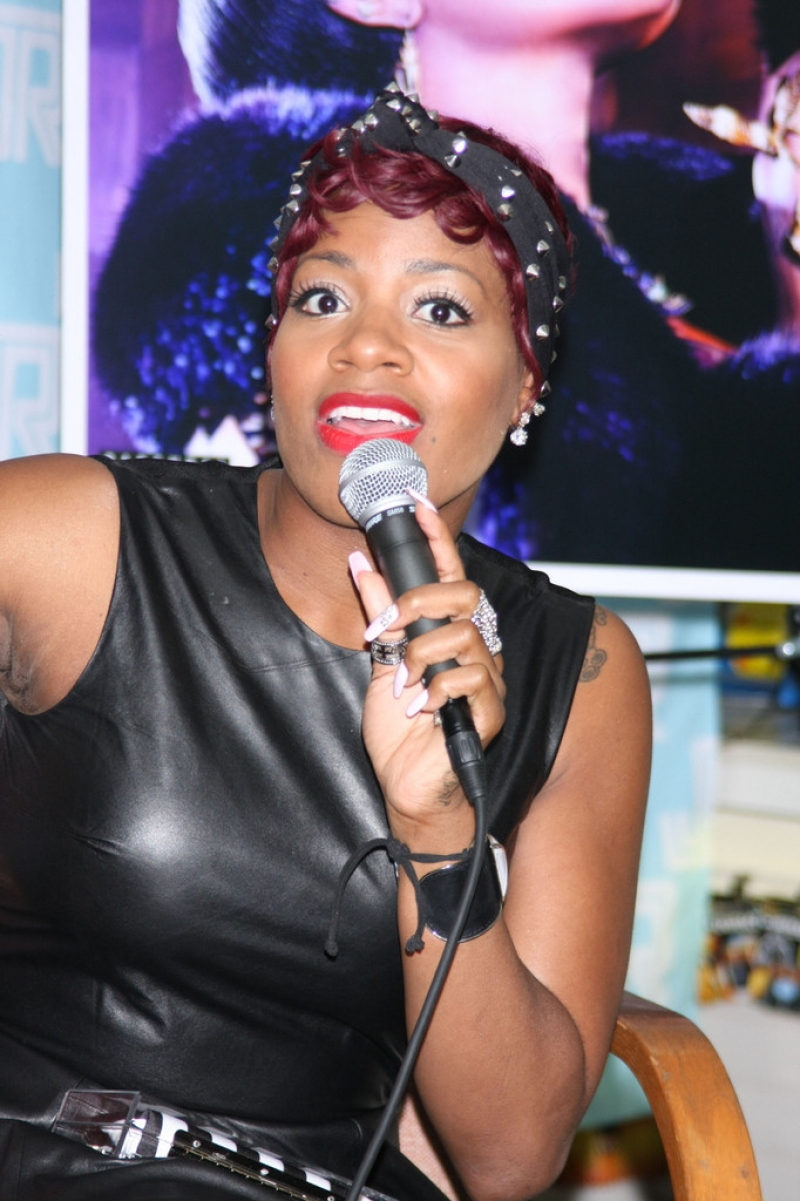 Fantasia Barrino Sings in NYC 39912