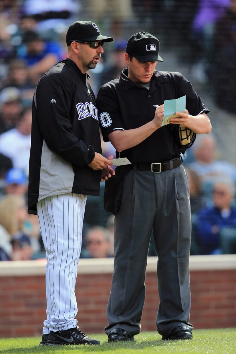 Arizona Diamondbacks v Colorado Rockies 39933