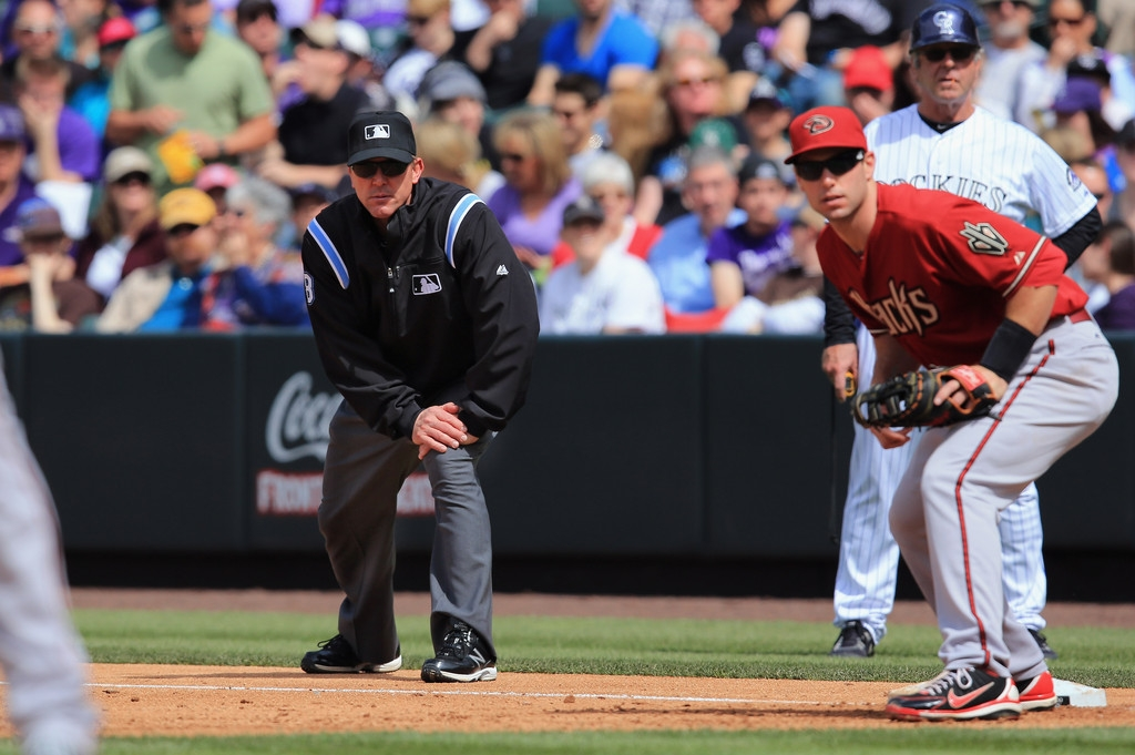 Arizona Diamondbacks v Colorado Rockies 40056