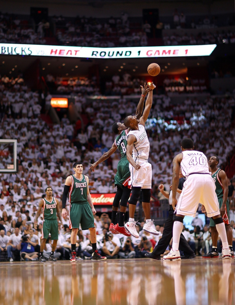Milwaukee Bucks v Miami Heat  40108