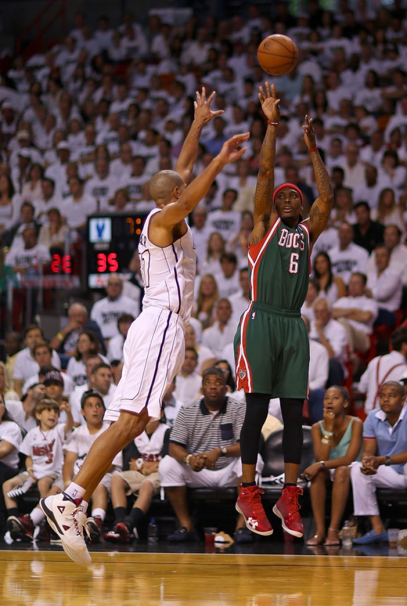 Milwaukee Bucks v Miami Heat  40207