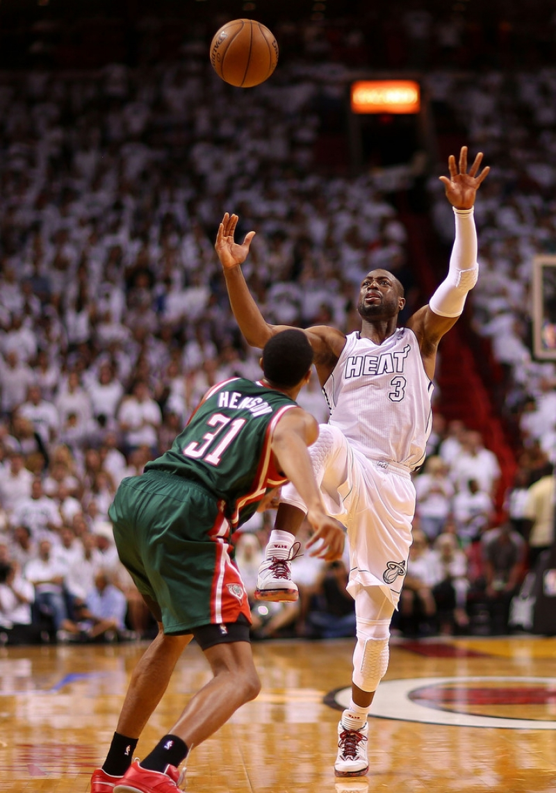 Milwaukee Bucks v Miami Heat  40308