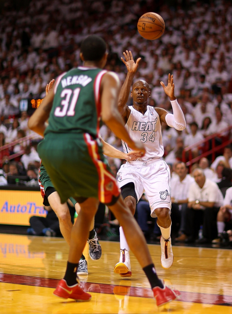 Milwaukee Bucks v Miami Heat  40352