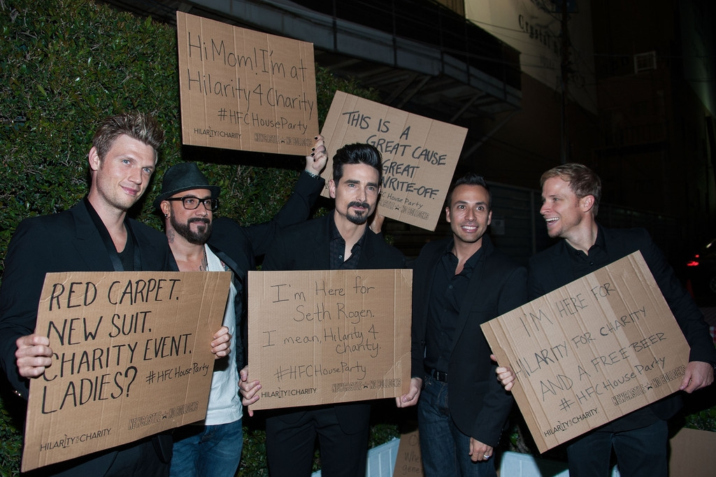 Arrivals at the Hilarity for Charity Event 40503