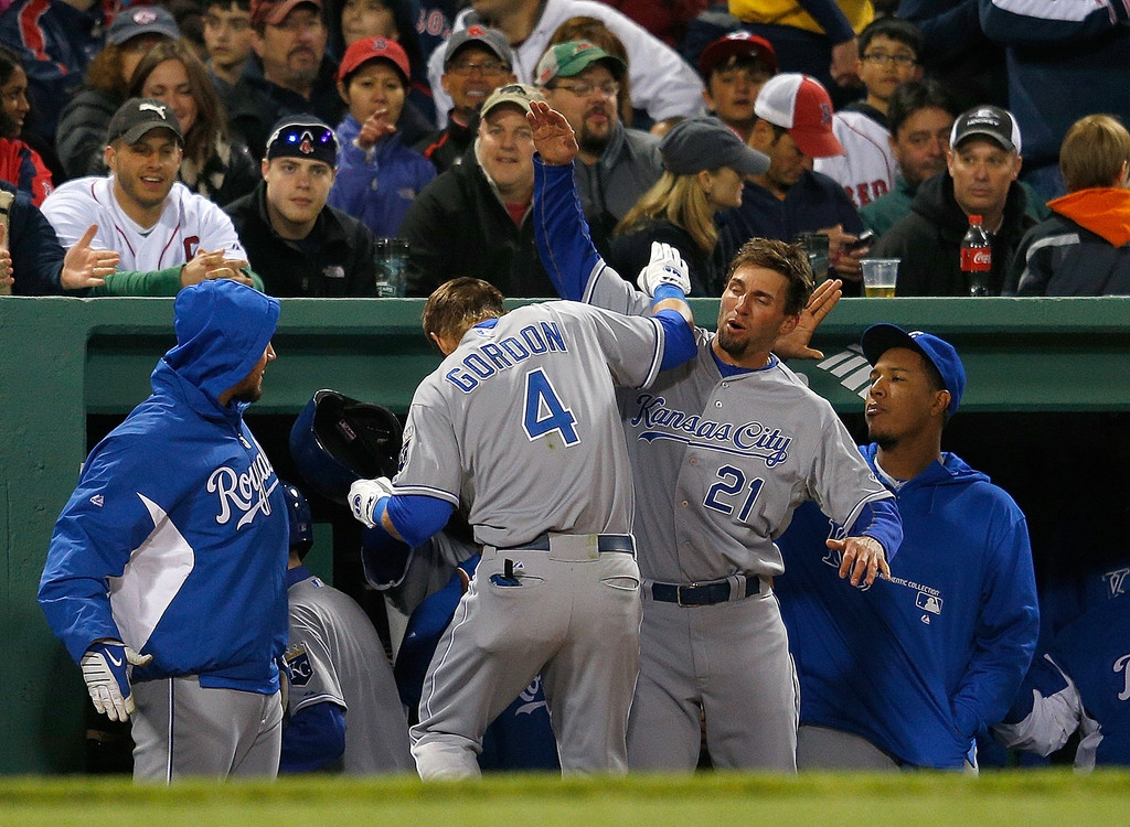 Kansas City Royals v Boston Red Sox  40573