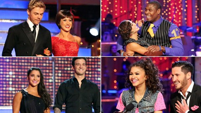 Dancing With the Stars': Zendaya Leads the pack in the last week 40690
