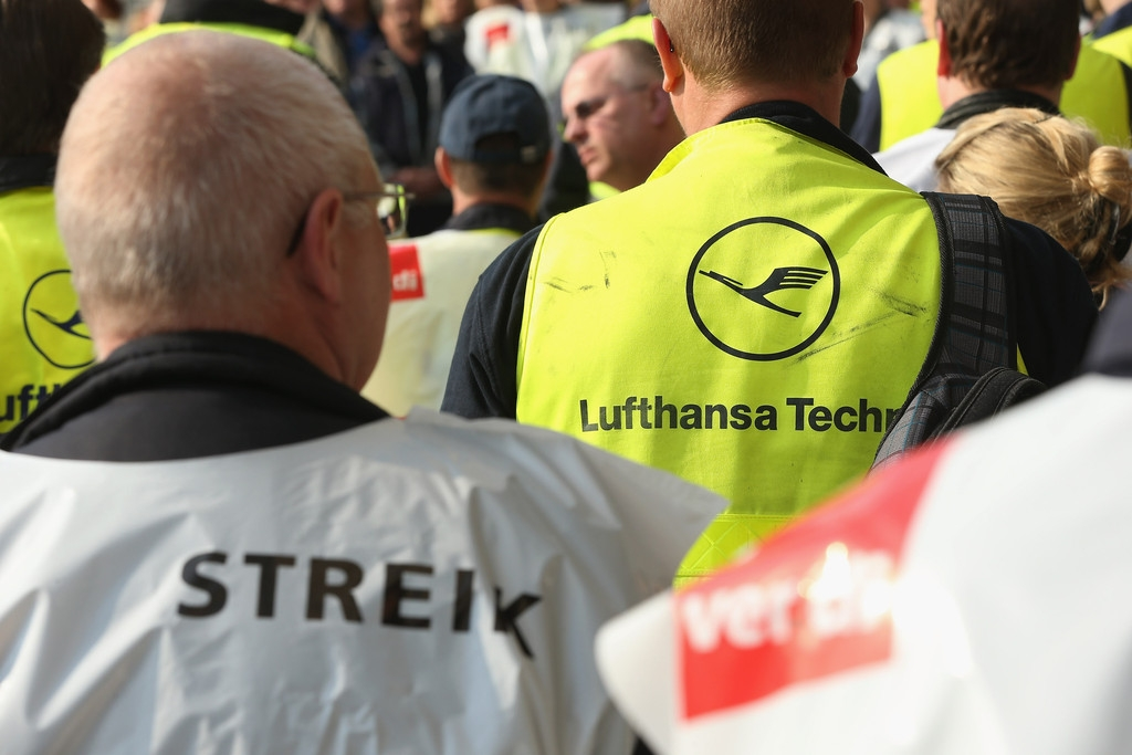 Lufthansa Strike Leads to Massive Flight Cancellations 40766