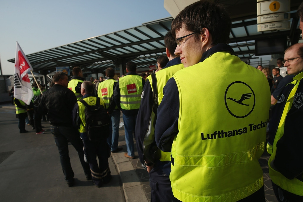 Lufthansa Strike Leads to Massive Flight Cancellations 40787