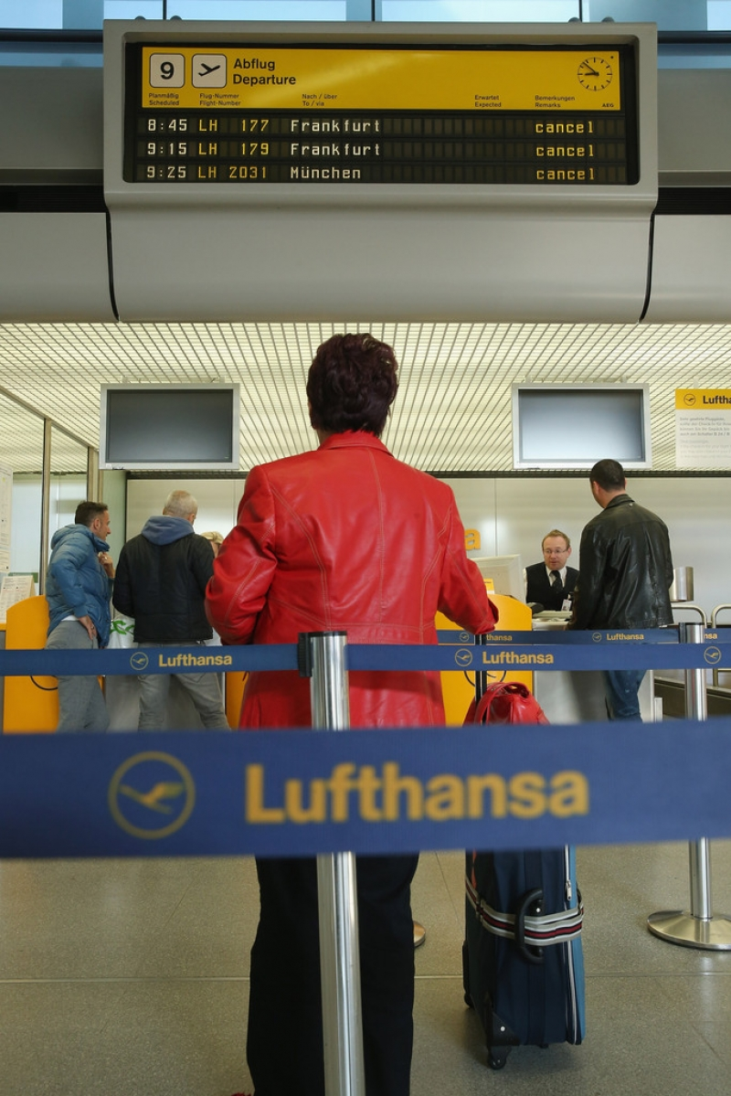 Lufthansa Strike Leads to Massive Flight Cancellations 40803