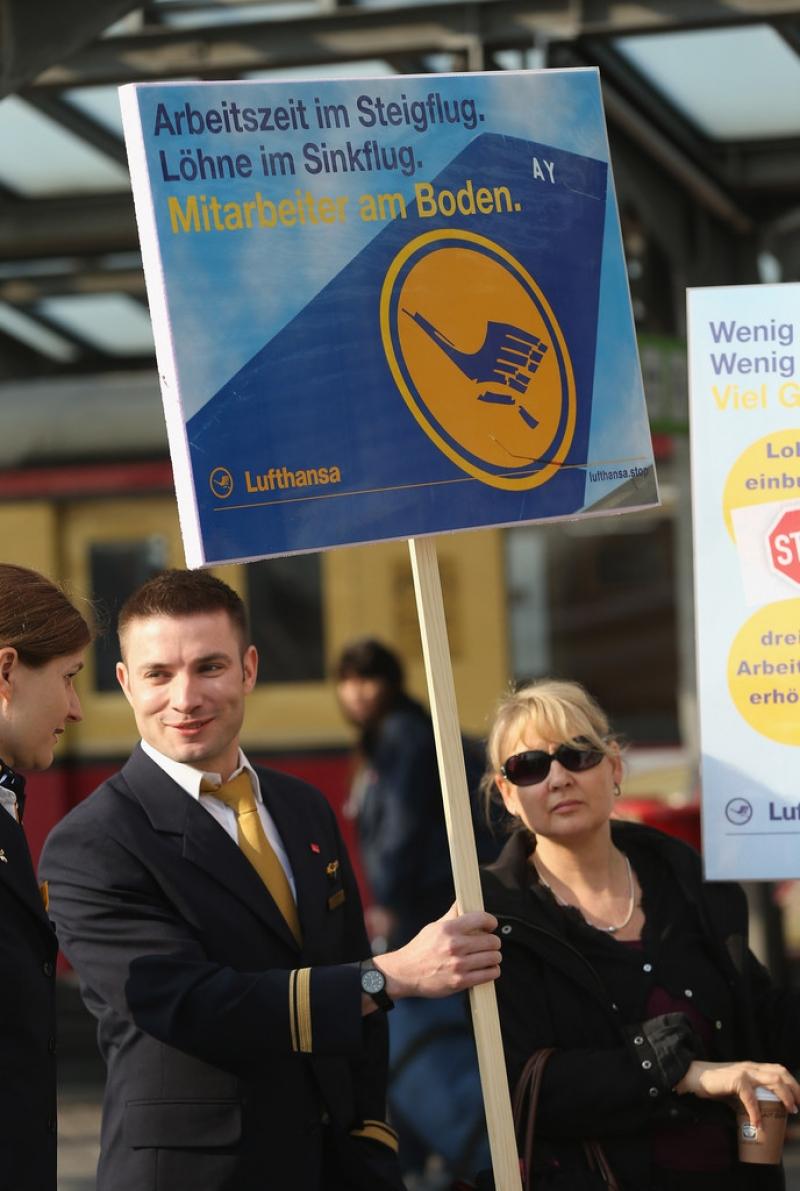 Lufthansa Strike Leads to Massive Flight Cancellations 40812