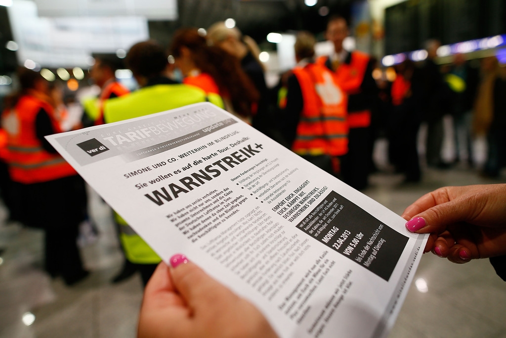 Lufthansa Strike Leads to Massive Flight Cancellations 40857