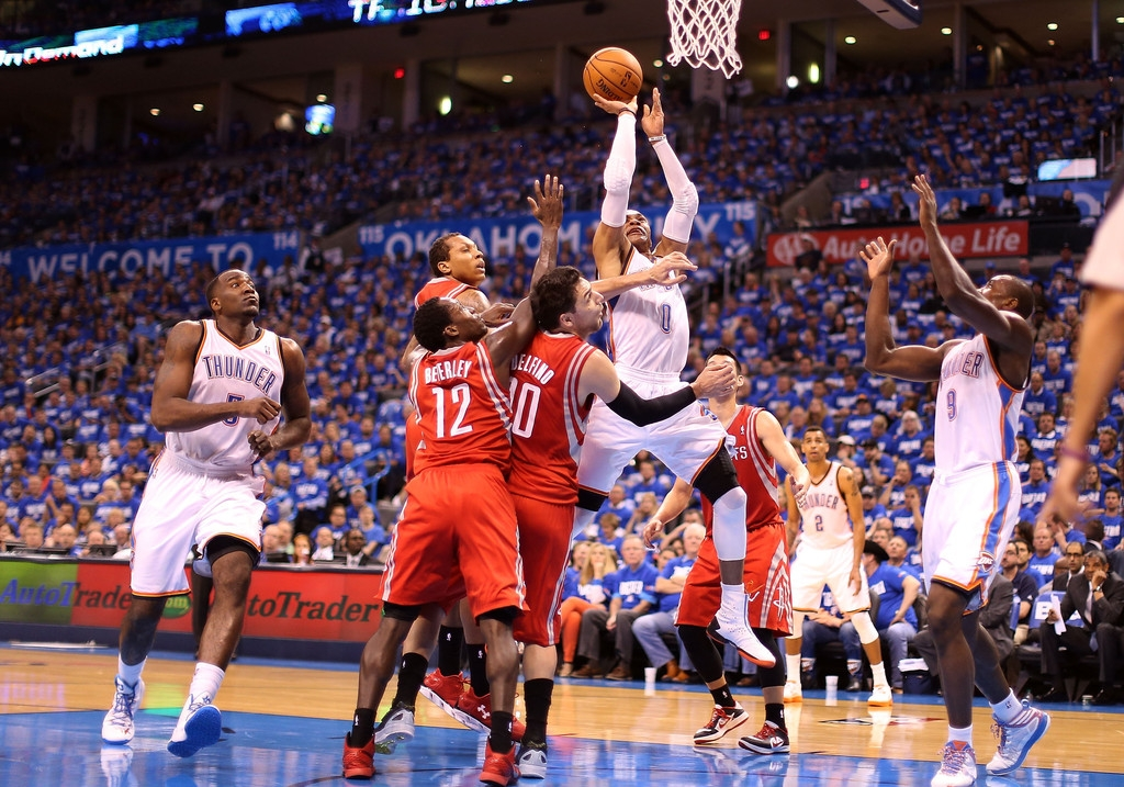 Houston Rockets v Oklahoma City Thunder 40864