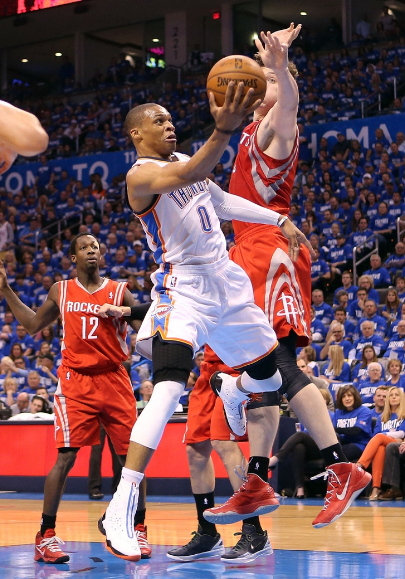 Houston Rockets v Oklahoma City Thunder 40870