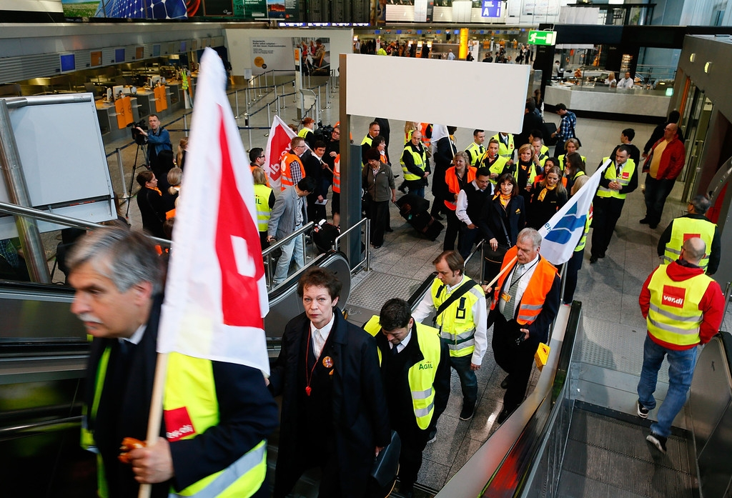 Lufthansa Strike Leads to Massive Flight Cancellations 40877