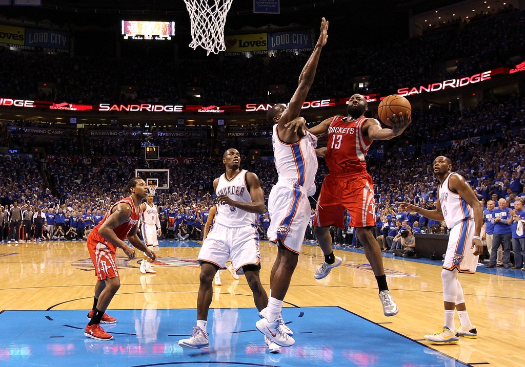 Houston Rockets v Oklahoma City Thunder 40959
