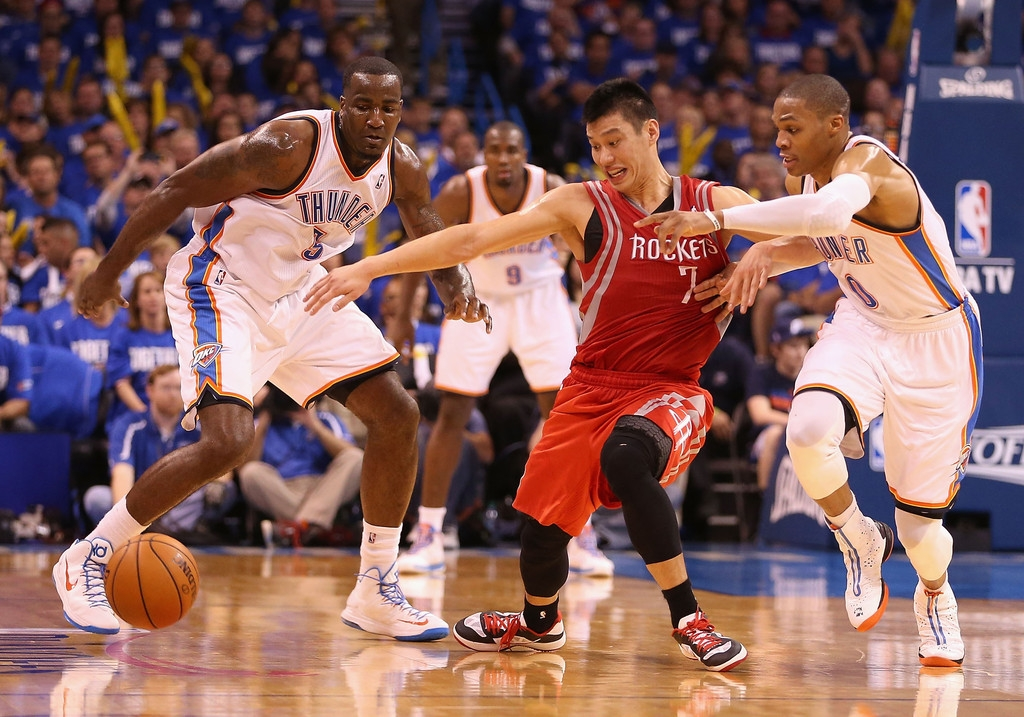 Houston Rockets v Oklahoma City Thunder 40961