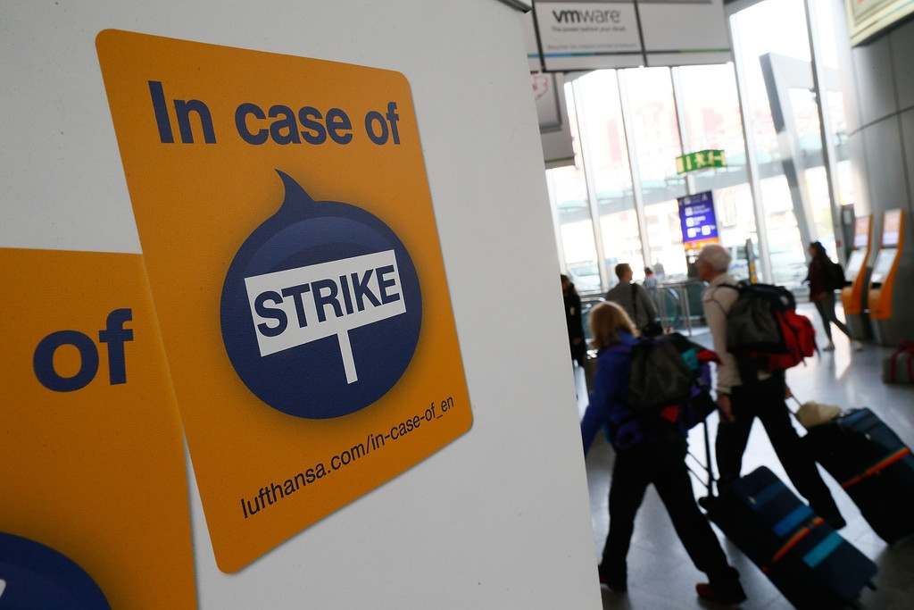 Lufthansa Strike Leads to Massive Flight Cancellations 40984
