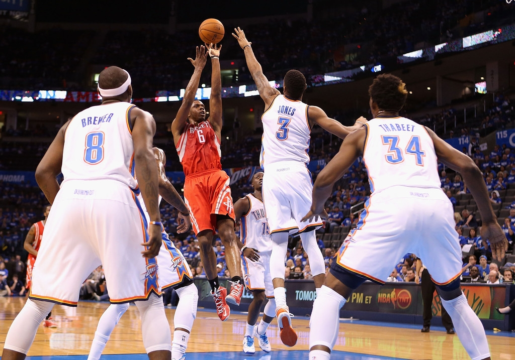Houston Rockets v Oklahoma City Thunder 40986