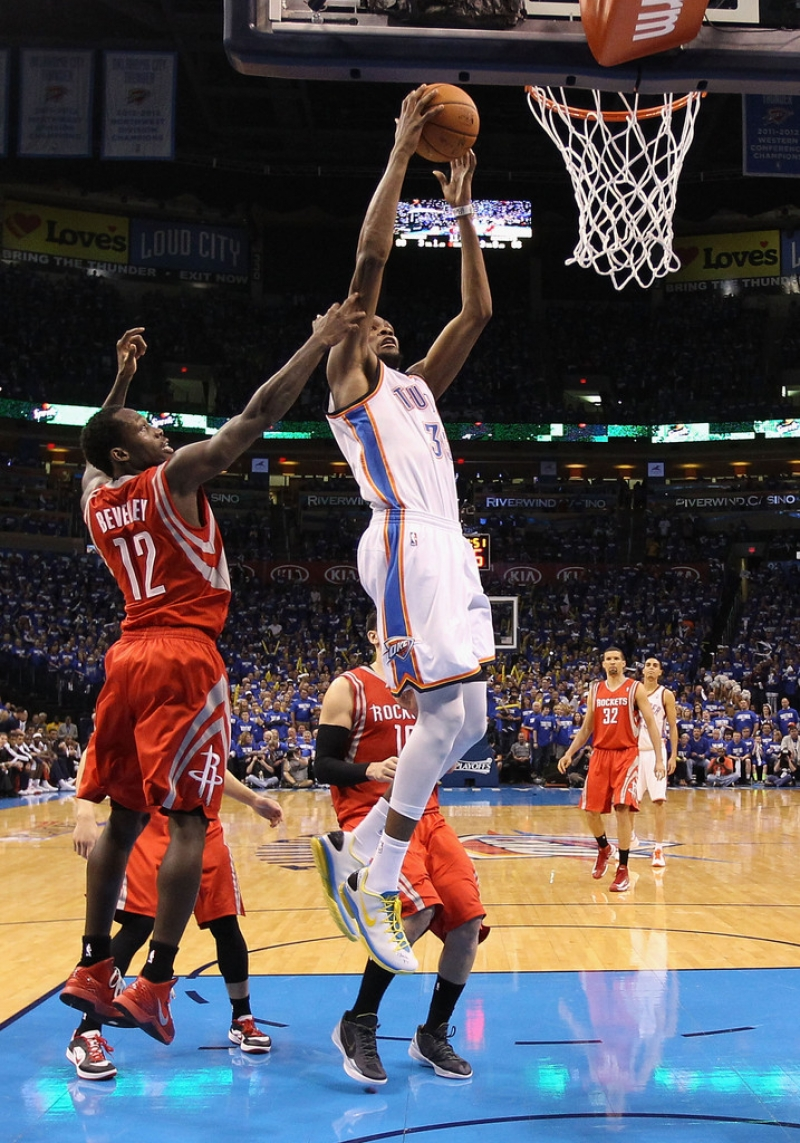 Houston Rockets v Oklahoma City Thunder 41022